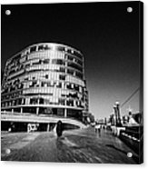 more london riverside place with the scoop London England UK Acrylic Print