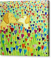 More Puppy Love  Acrylic Print