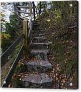 More Stairs Acrylic Print