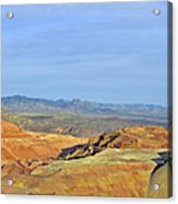 Morenci - A Beauty Of A Copper Mine Acrylic Print