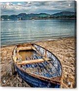 Morfa Nefyn Boat Acrylic Print