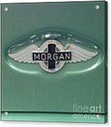 Morgan Car Emblem Acrylic Print
