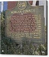 Morgan County Acrylic Print