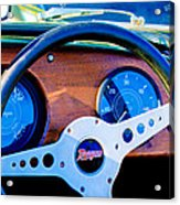 Morgan Steering Wheel Acrylic Print