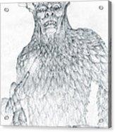 Morgoth And Fingolfin Acrylic Print