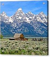 Mormon Row Acrylic Print
