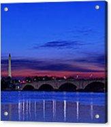 Morning Along The Potomac Acrylic Print