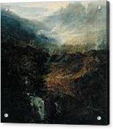 Morning Amongst The Coniston Fells Acrylic Print