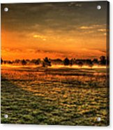Morning Arrives At Foxfire  Acrylic Print
