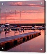 Morning At Chatfield Marina Acrylic Print