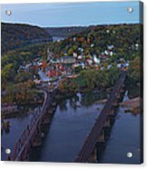 Morning At Harpers Ferry Acrylic Print