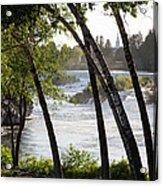 Morning At Idaho Falls Acrylic Print