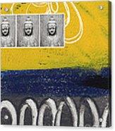 Morning Buddha Acrylic Print