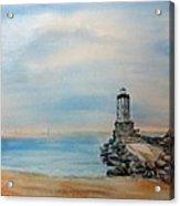 Angel's Gate Lighthouse Acrylic Print