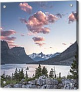 Morning Colors On The Lake Acrylic Print
