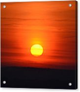 Morning Comes A New Day Acrylic Print
