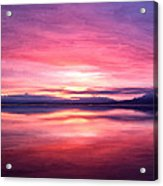 Morning Dawn Acrylic Print by Michael Pickett