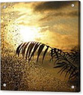Morning Dew Screen Acrylic Print