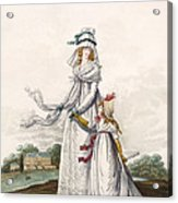 Morning Dresses, Fig. 63 & Fig. 64 Acrylic Print