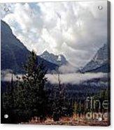 Morning East Glacier Park Acrylic Print