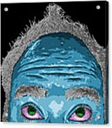 Morning Fauxhawk Acrylic Print