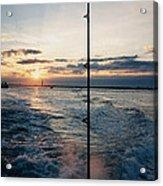 Morning Fishing Acrylic Print