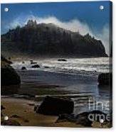 Morning Fog Burn Acrylic Print