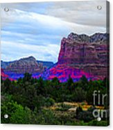 Glorious Morning In Sedona Acrylic Print