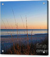 Morning Has Broken At Myrtle Beach South Carolina Acrylic Print