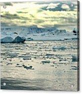 Morning Ice Flow Acrylic Print