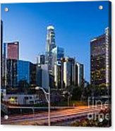 Morning In Los Angeles Acrylic Print by Inge Johnsson