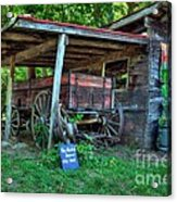 Morning In Rabbit Hash 2 Acrylic Print by Mel Steinhauer