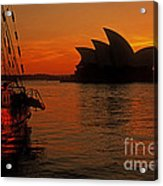 Morning In Sydney Harbour Acrylic Print