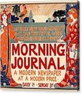 Morning Journal Acrylic Print