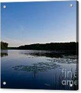 Morning Lake Acrylic Print