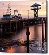 Morning Light At Port Angeles Acrylic Print
