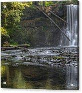 Morning Light At Upper North Falls Acrylic Print