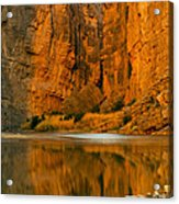 Morning Light In The Canyon Acrylic Print