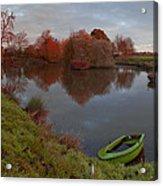 Morning Light Lenton Fishing Pond Acrylic Print