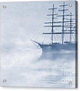 Morning Mists Cyanotype Acrylic Print