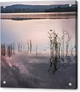 Morning Nocturne. Ladoga Lake. Northern Russia  Acrylic Print