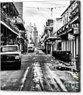 Morning On Bourbon Street Acrylic Print