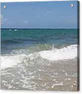 Morning On Boynton Beach 4 Acrylic Print by Shawn Lyte