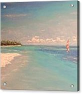 Morning On The Beach Acrylic Print by The Beach  Dreamer