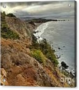 Morning Pacific Storm Clouds Acrylic Print