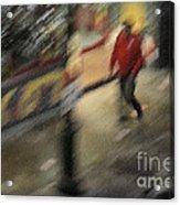 Morning People - The Man Acrylic Print