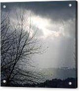 Morning Rains Acrylic Print by Scott Ware