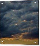 Morning Sky Acrylic Print by Yvette Pichette