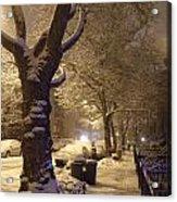Morning Snow Acrylic Print