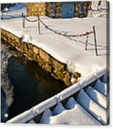 Morning Snow Acrylic Print